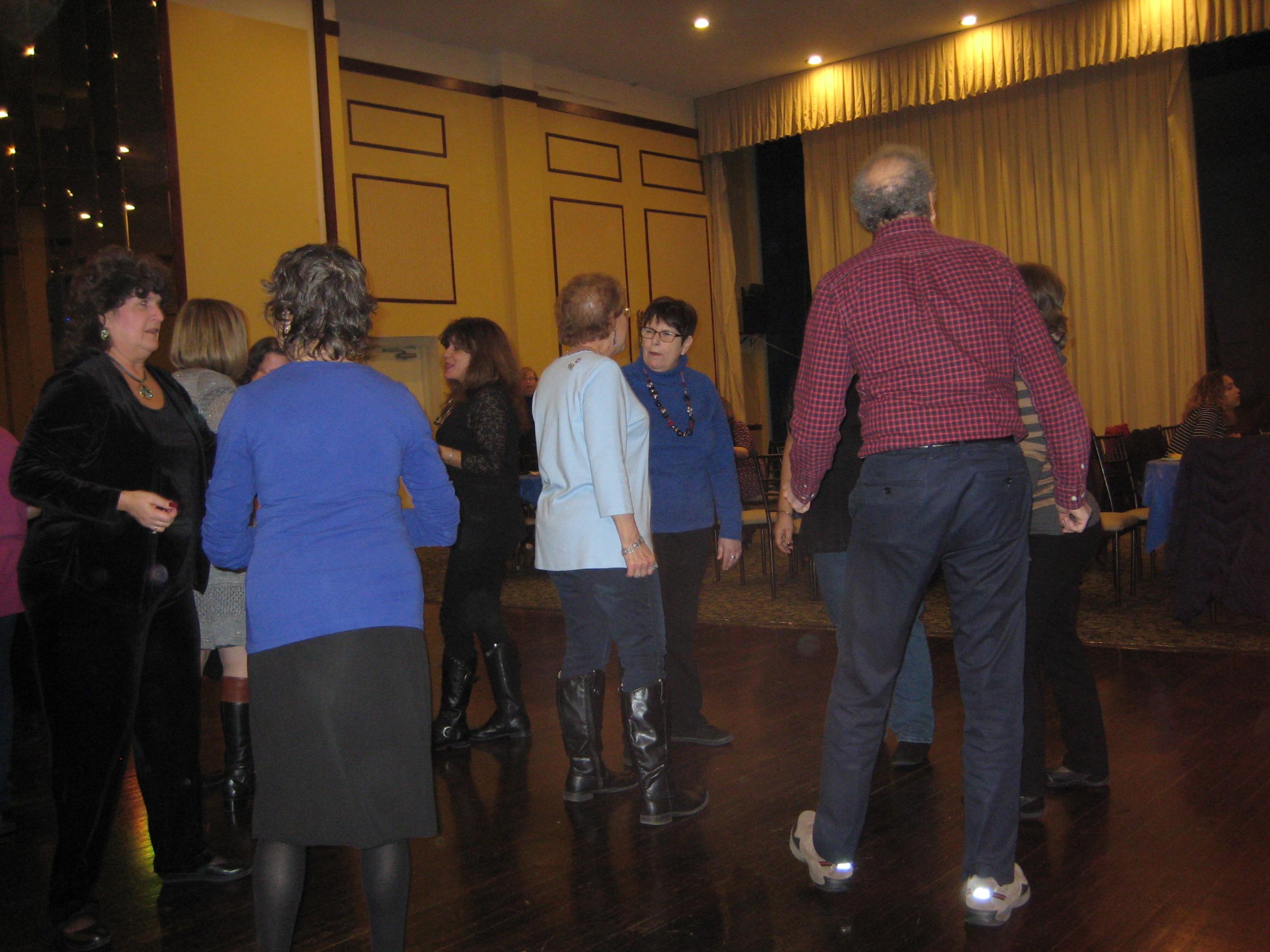 2015 Vodka and Latkes dancing