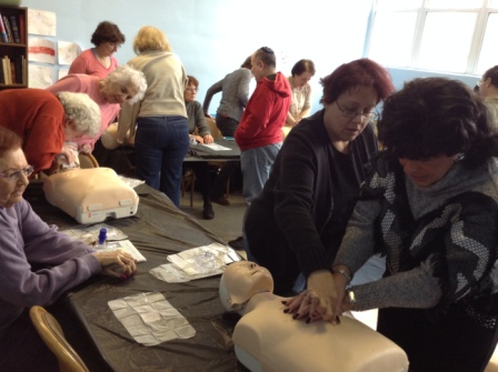 CPR Hands on training