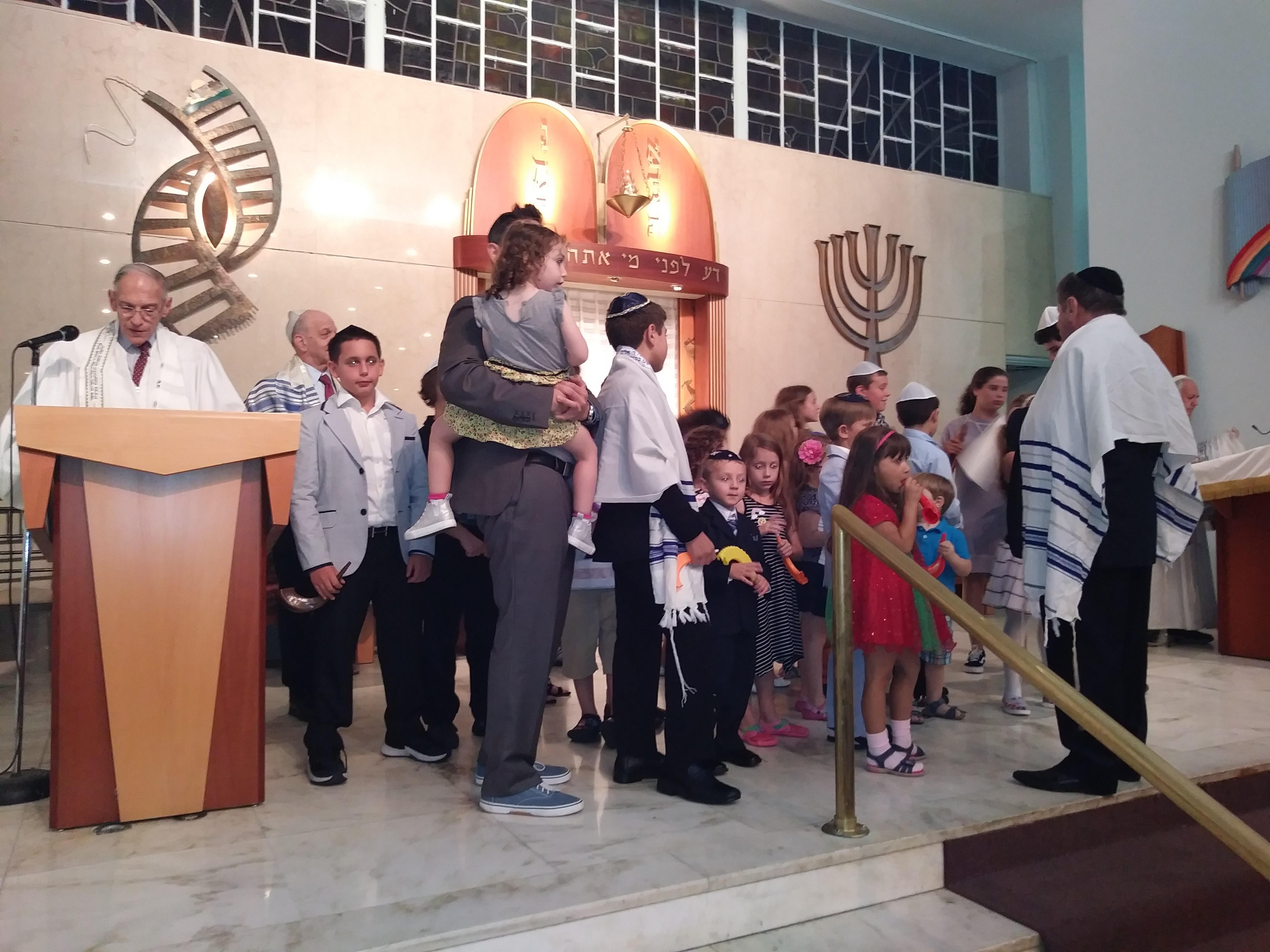 End of Yom Kippur September 2018