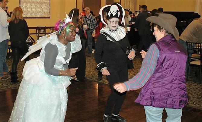 Purim dancing 2017