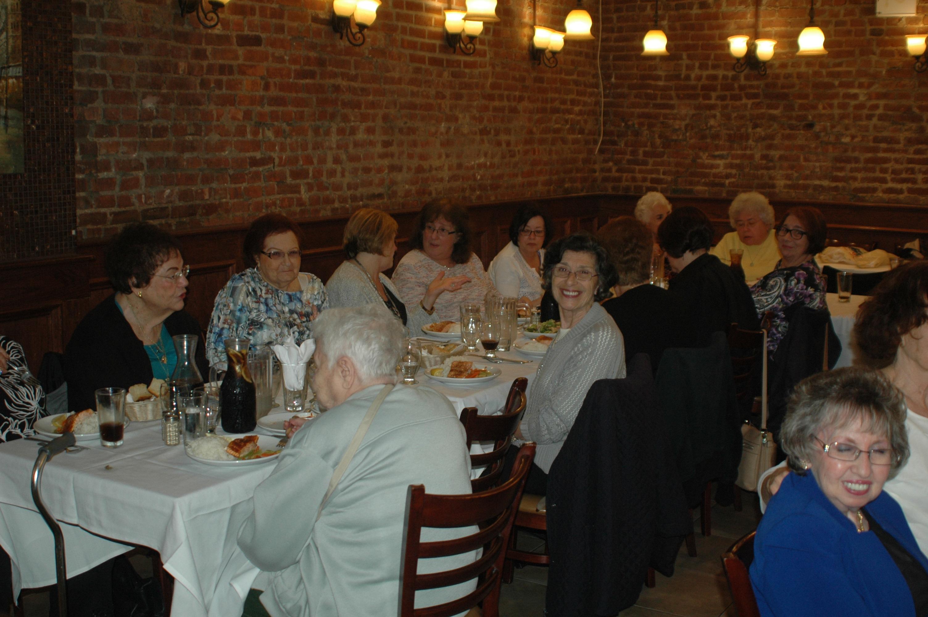Sisterhood dinner June 8