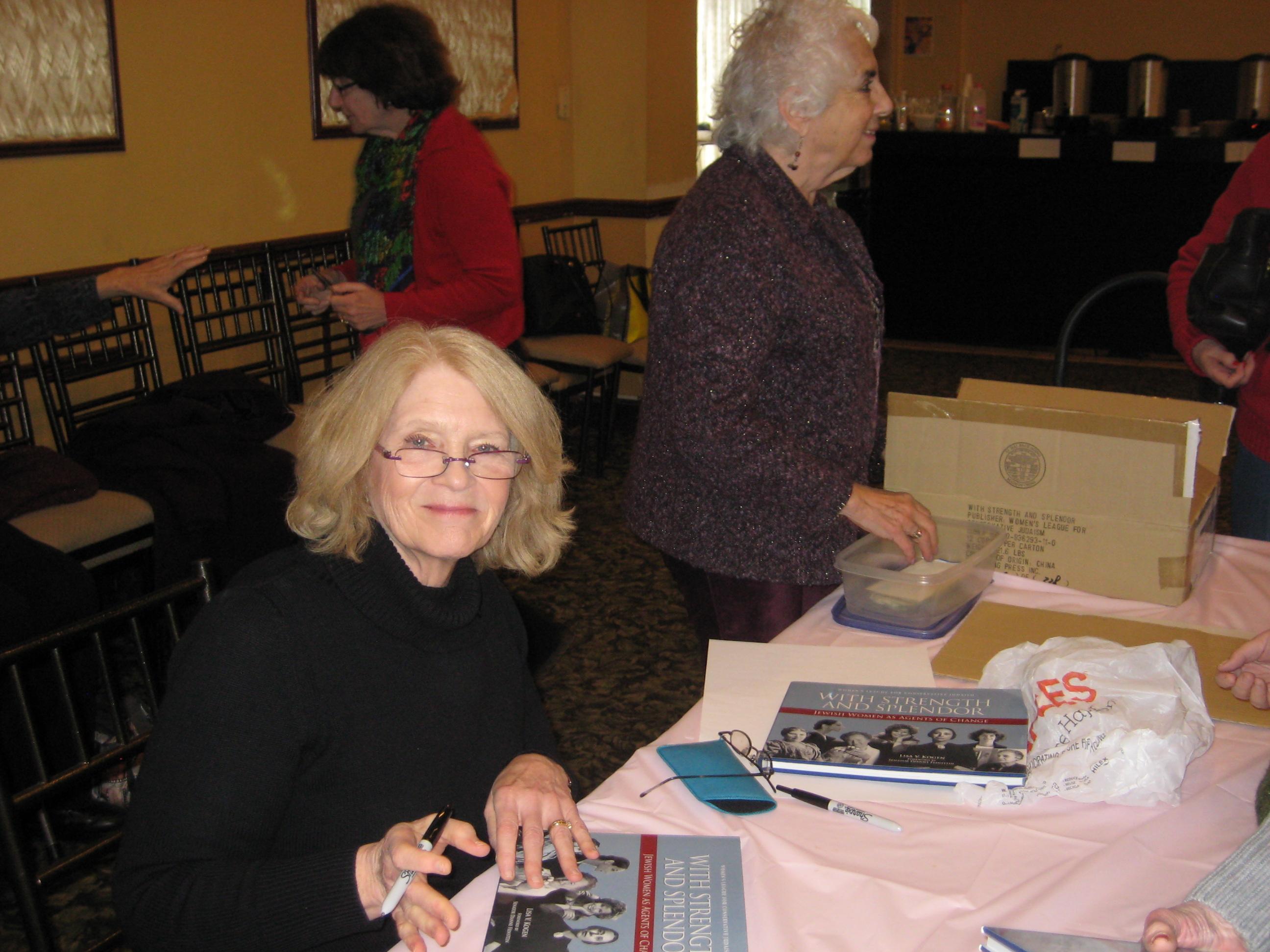 Torah Fund Brunch with author Lisa Kogen