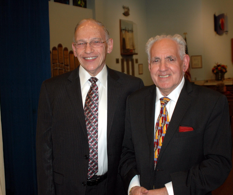 Yom HaShoah Rabbi and Cantor