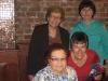 Sisterhood dinner honorees and presidium